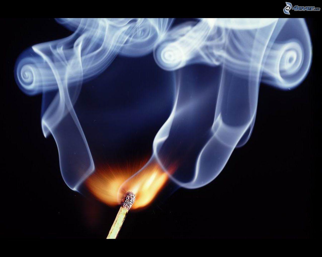 Как сделать дым с пальцев