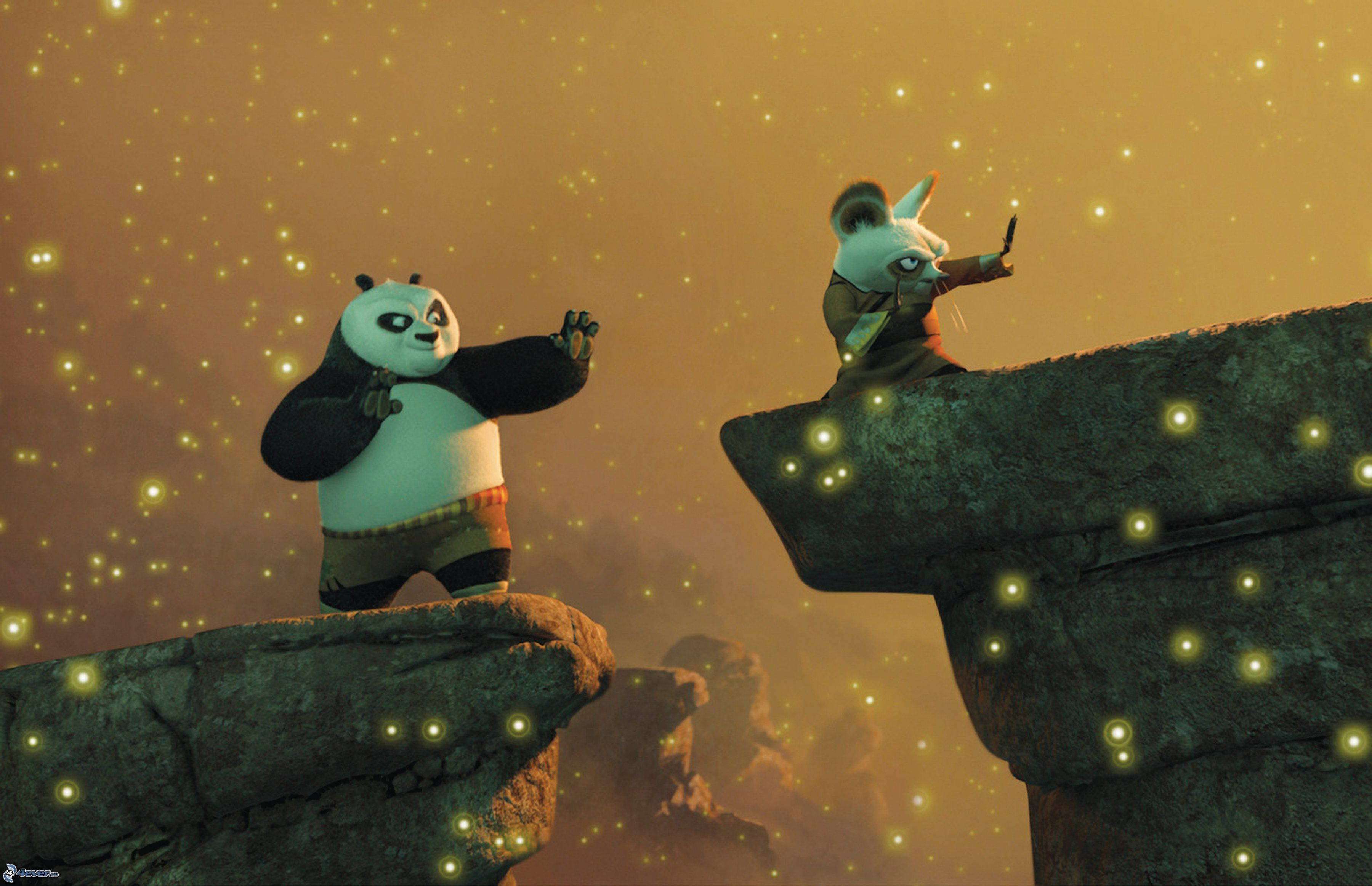 Kung Fu Panda Kung Fu Panda Po And Shifu