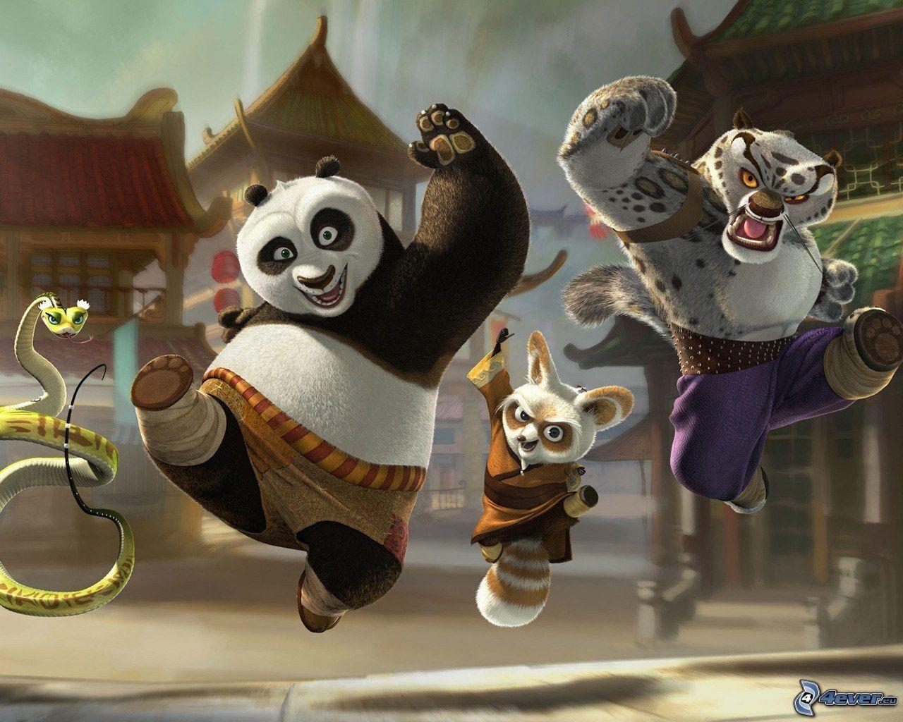 Kung fu panda tiger - photo#20