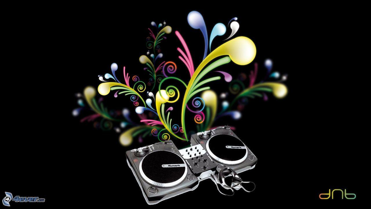 Cartoon DJ