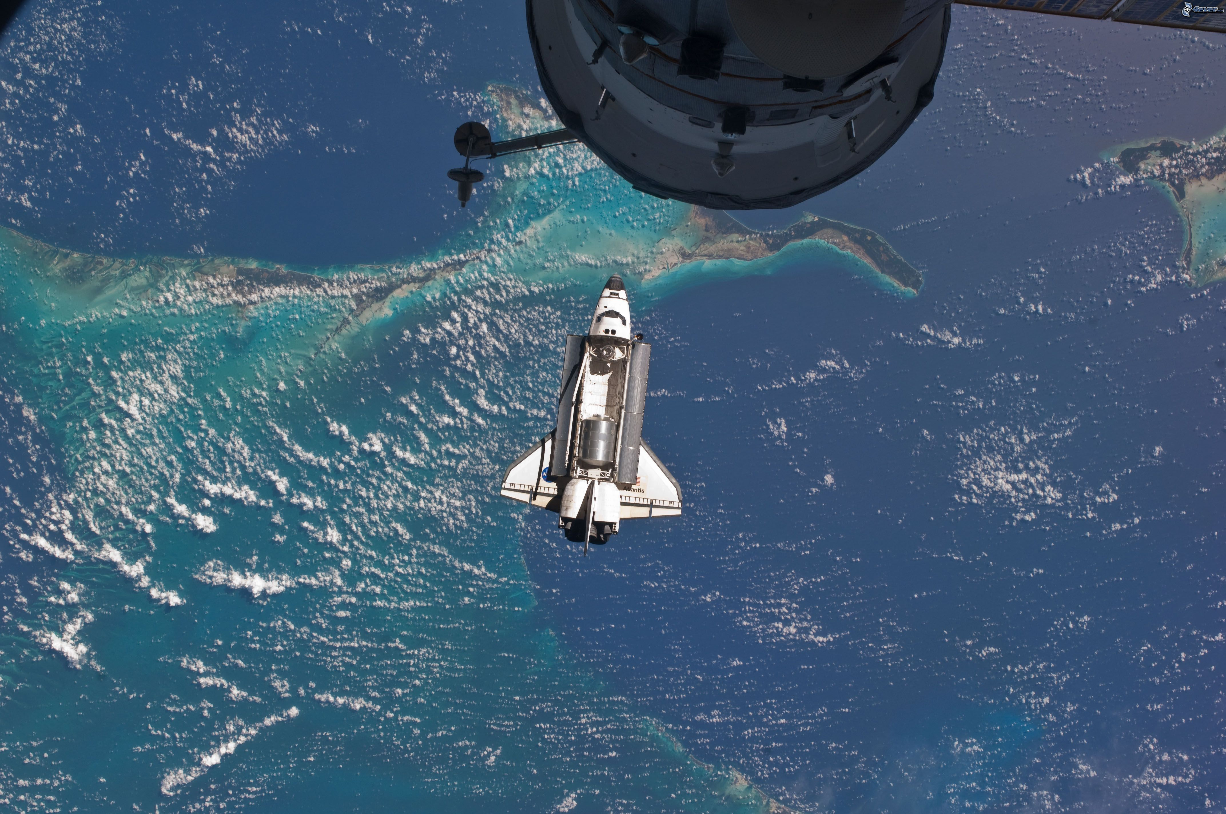 shuttle launch from space station - photo #29