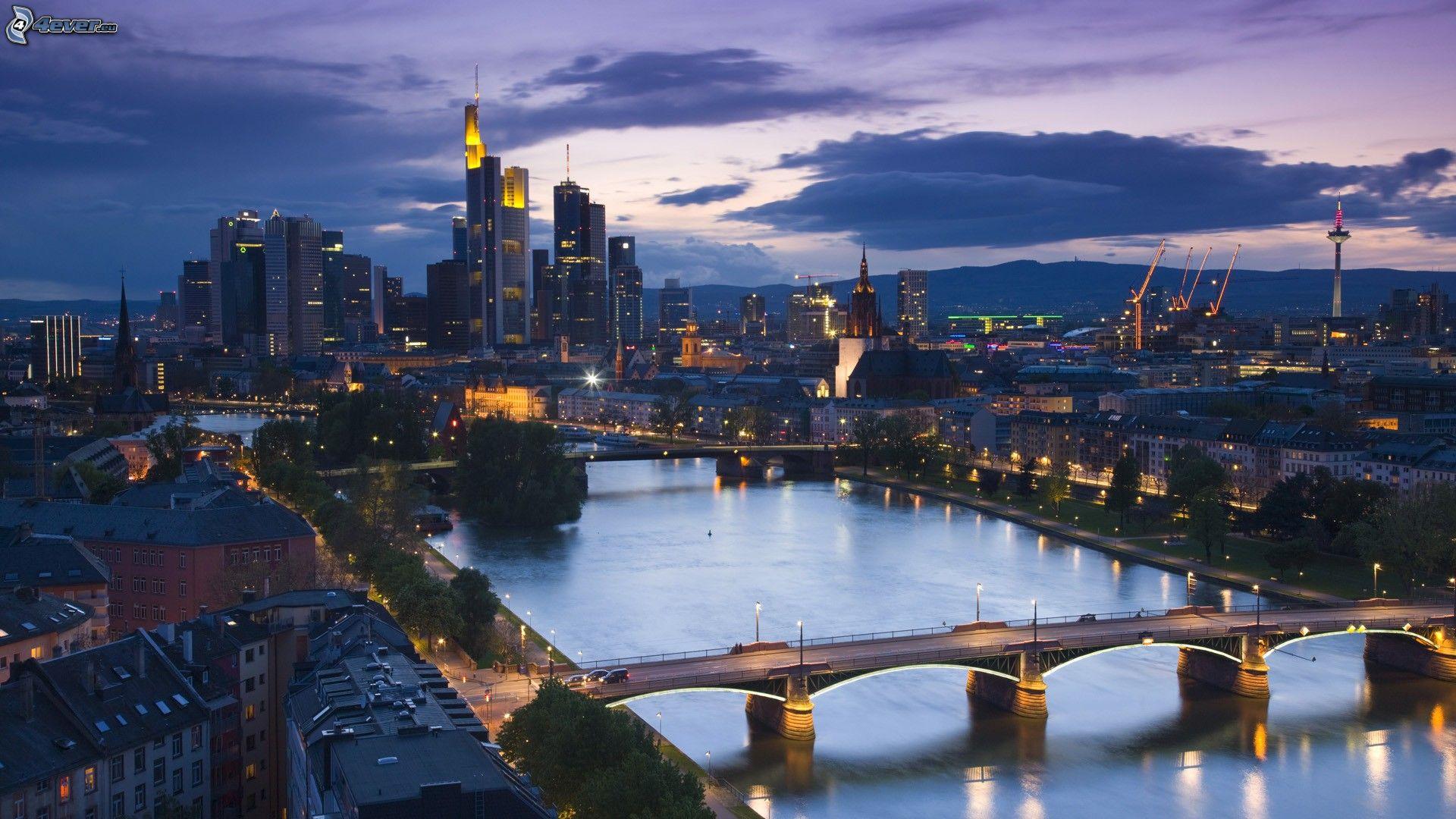 Frankfurt - Frankfurt river