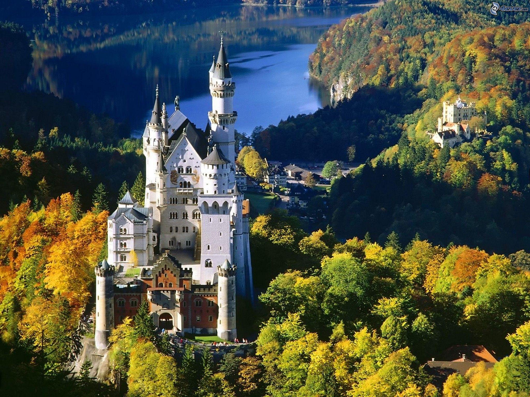 Image result for Neuschwanstein Castle in Hohenschwangau