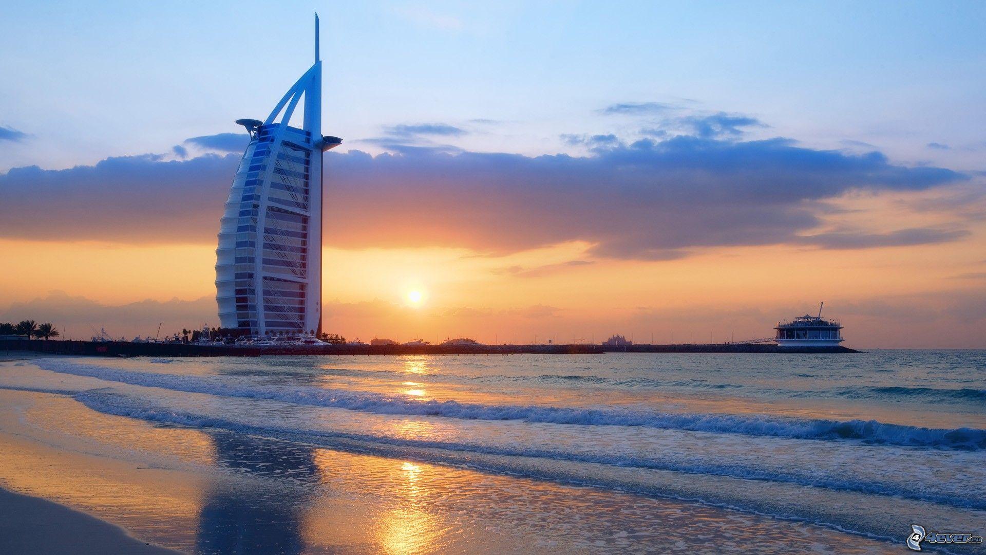 Sea Building In Dubai | Images Guru