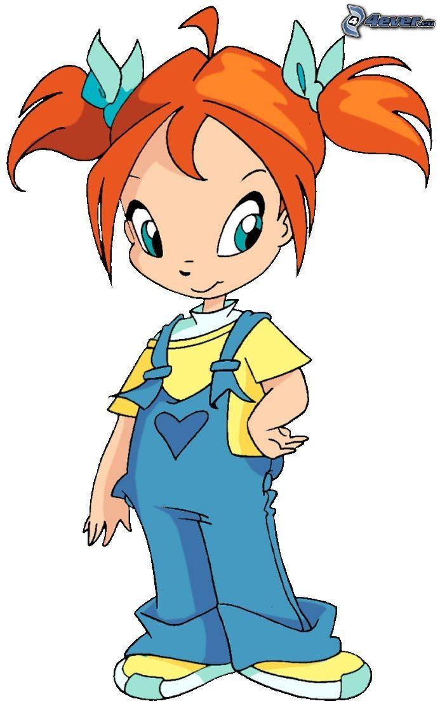 Girls cartoon character