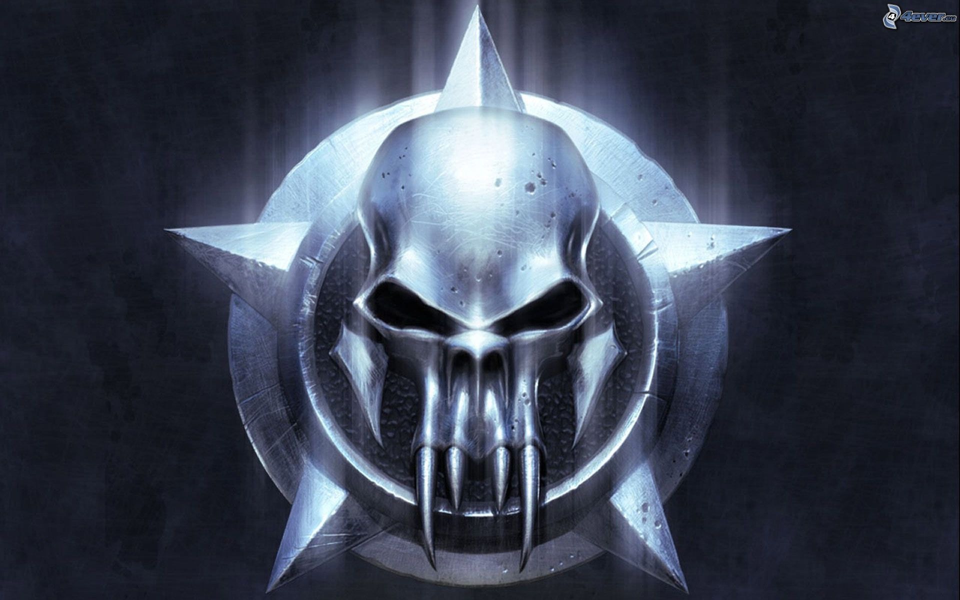 Warrior - Devil skull wallpaper ...