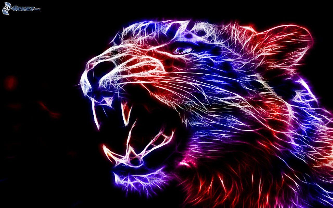 laser cat wallpaper
