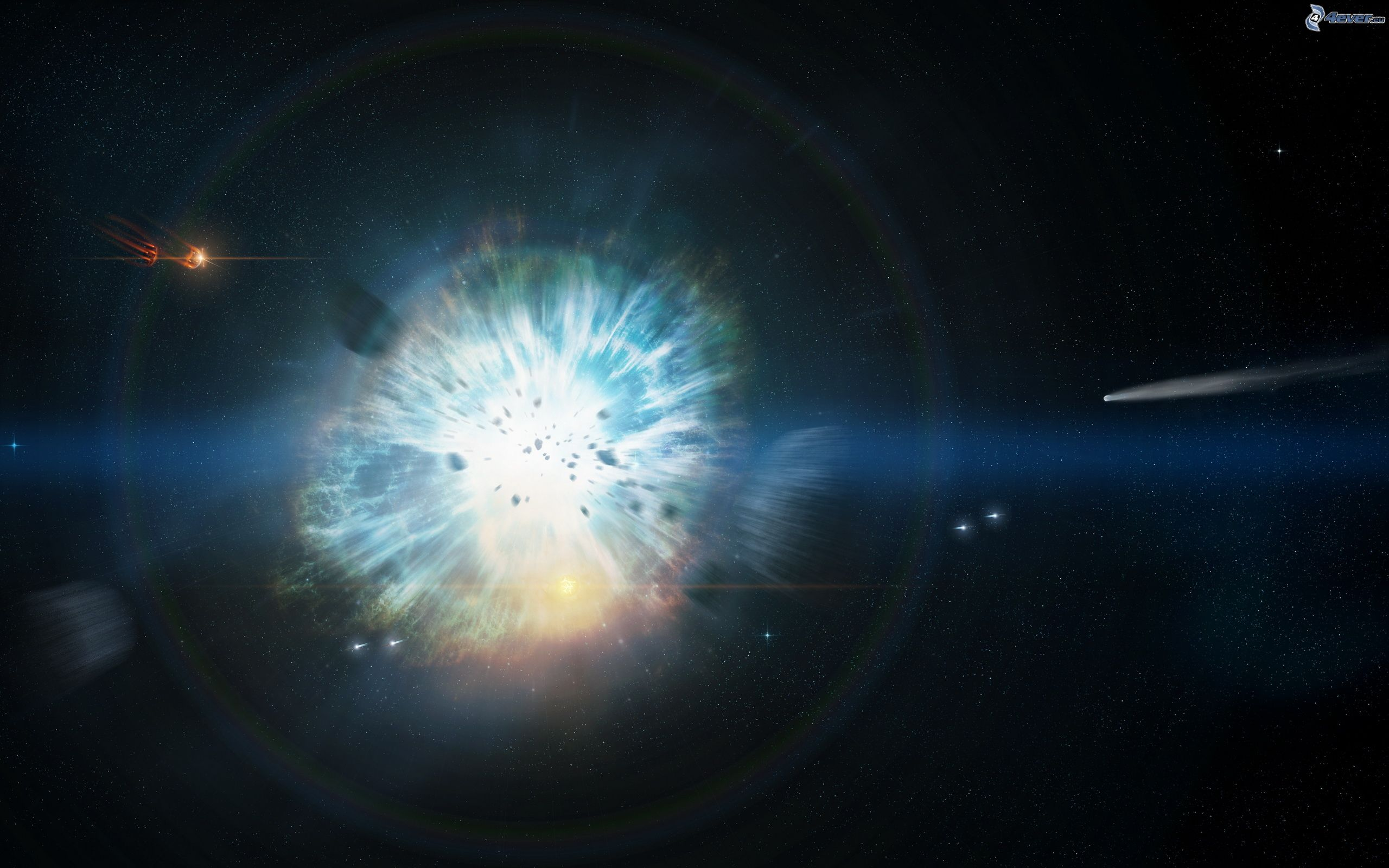 Solar System Explosion - Pics about space