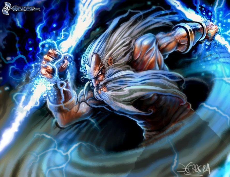 Zeus Zeus Digital Painting
