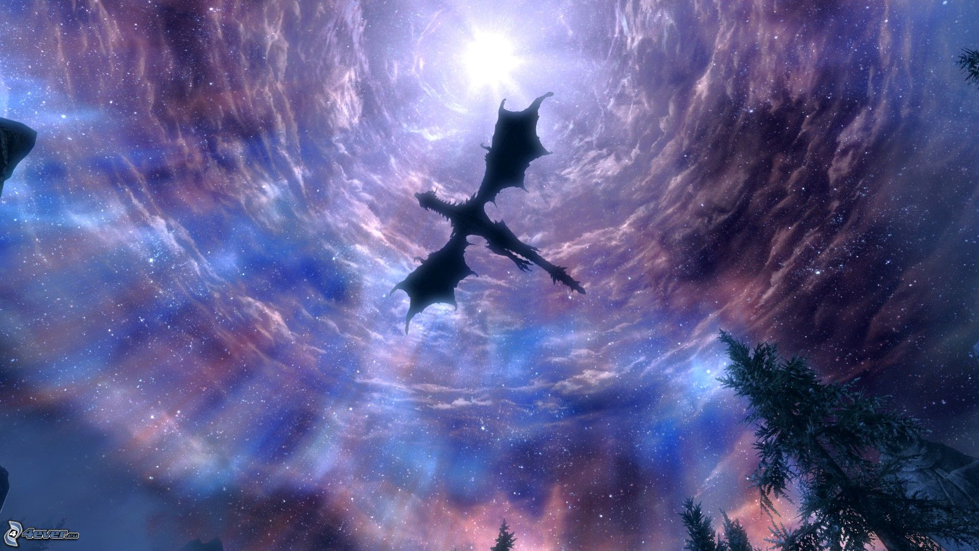 Shooting Star Dragon And Red Nova Flight By Sanokal On