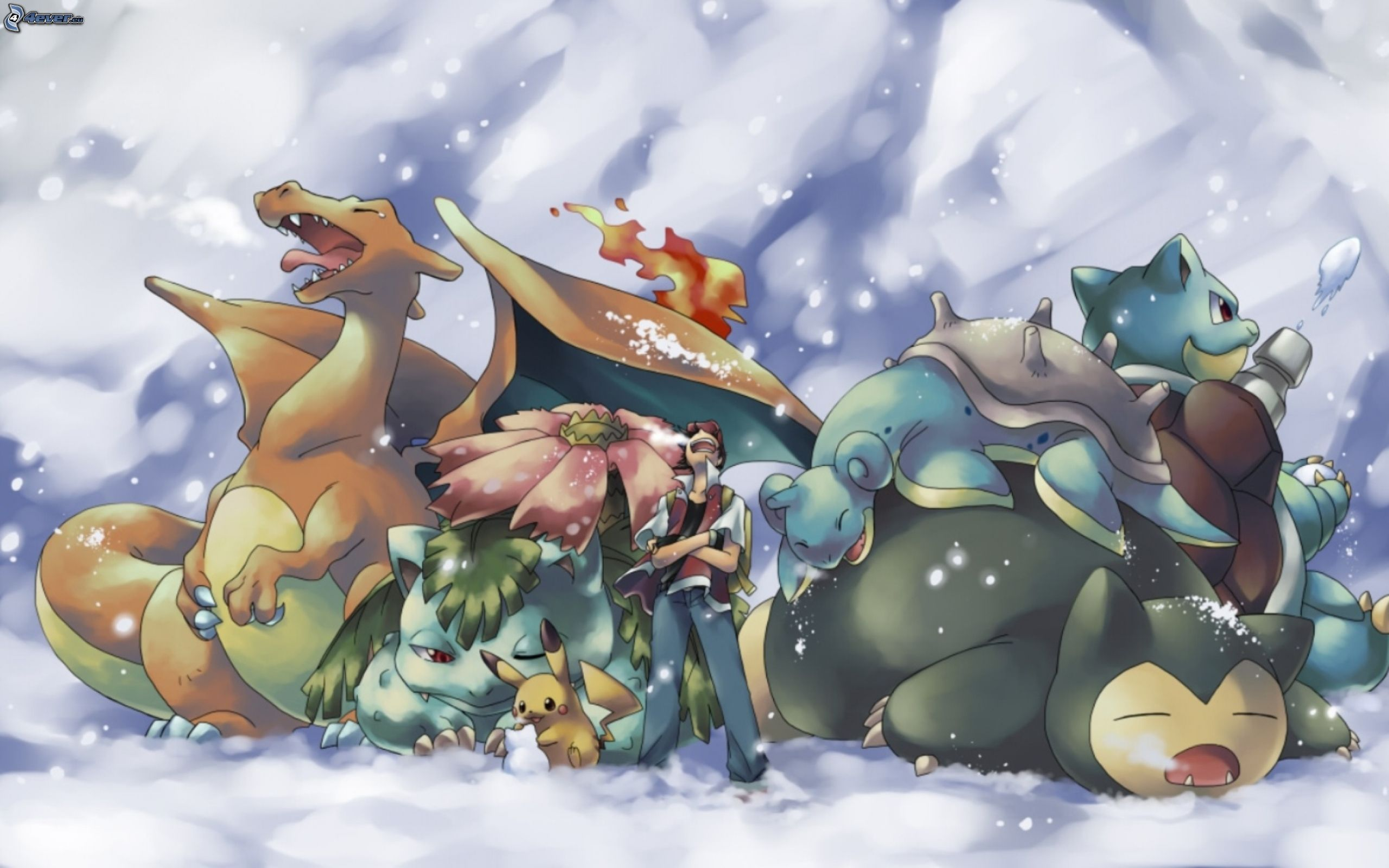 Pikachu And Charizard Best Friends Download picture