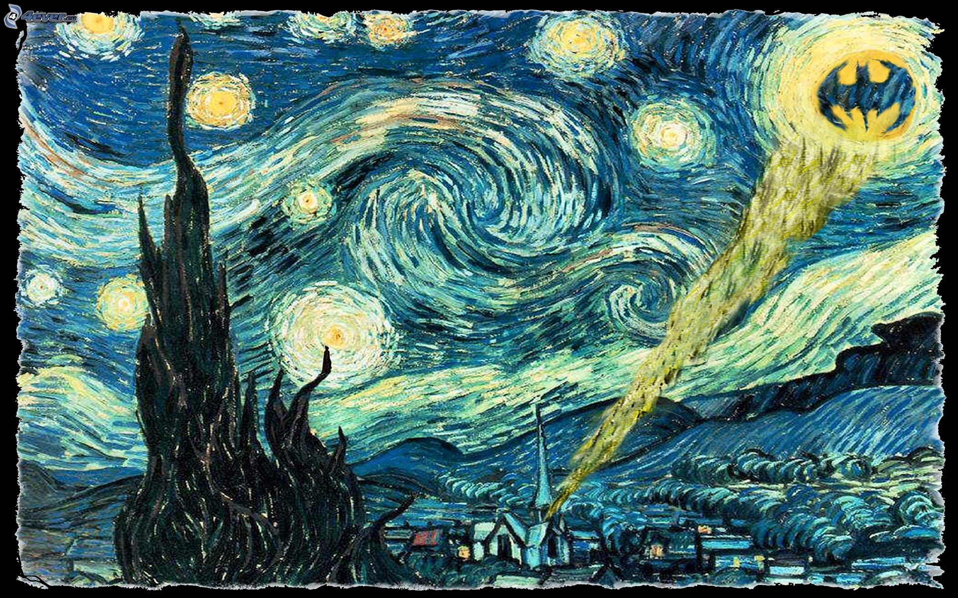 starry night by vincent van gogh Vincent van gogh (30 march 1853 – 29 july 1890) painted starry night in 1889,  one year before his death the painting depicts a phase of his.