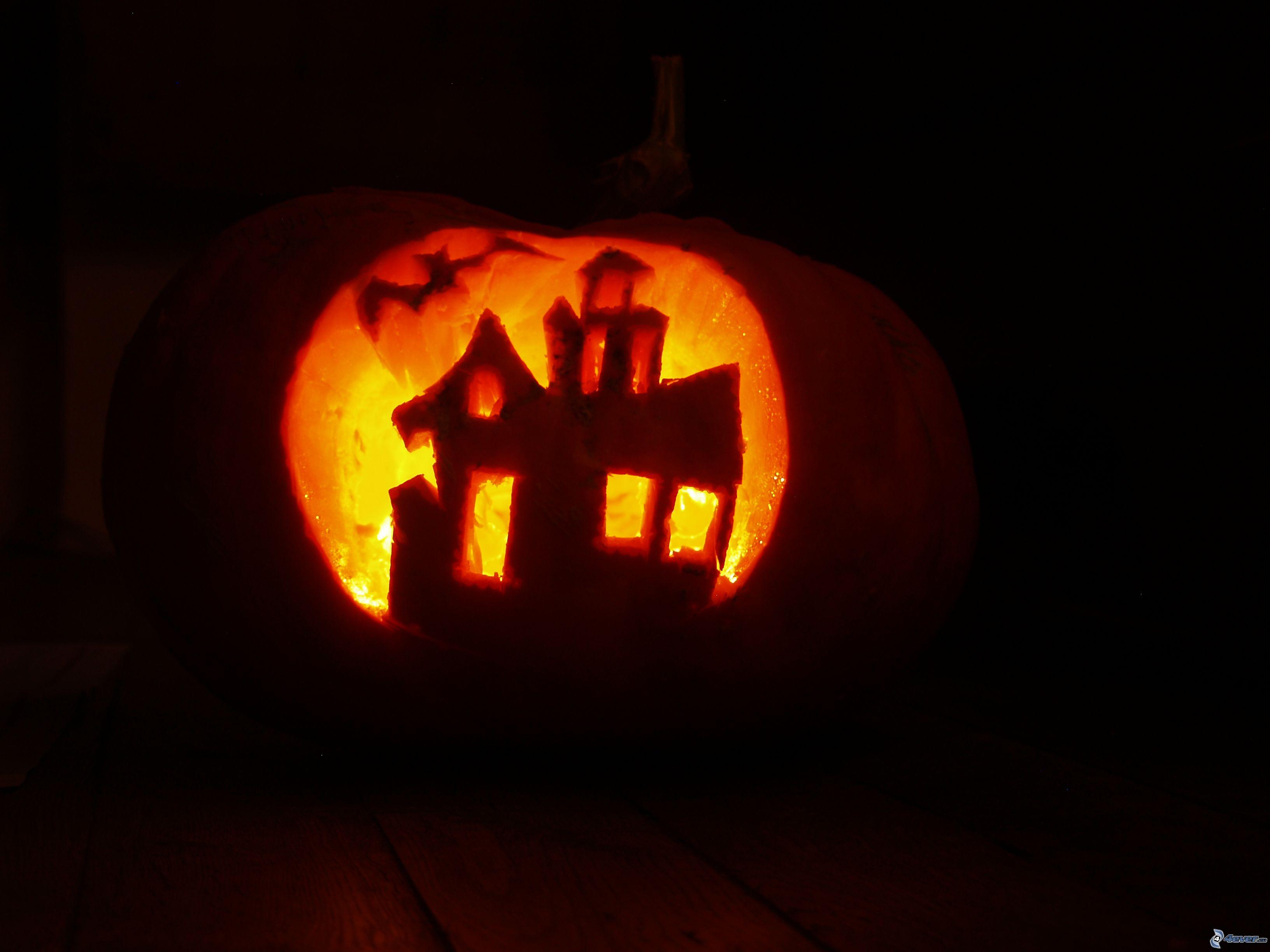 halloween pumpkin house by - photo #11