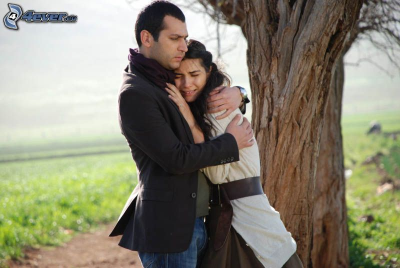 Sad Hug Couple Wallpaper Download Picture