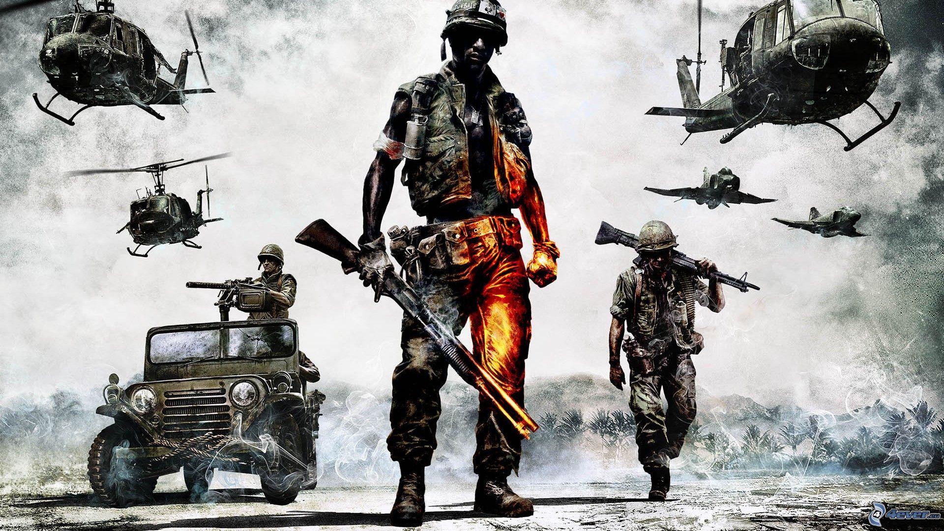 یاری بۆ كۆمپیوتهر Battlefield 2 : PC Game