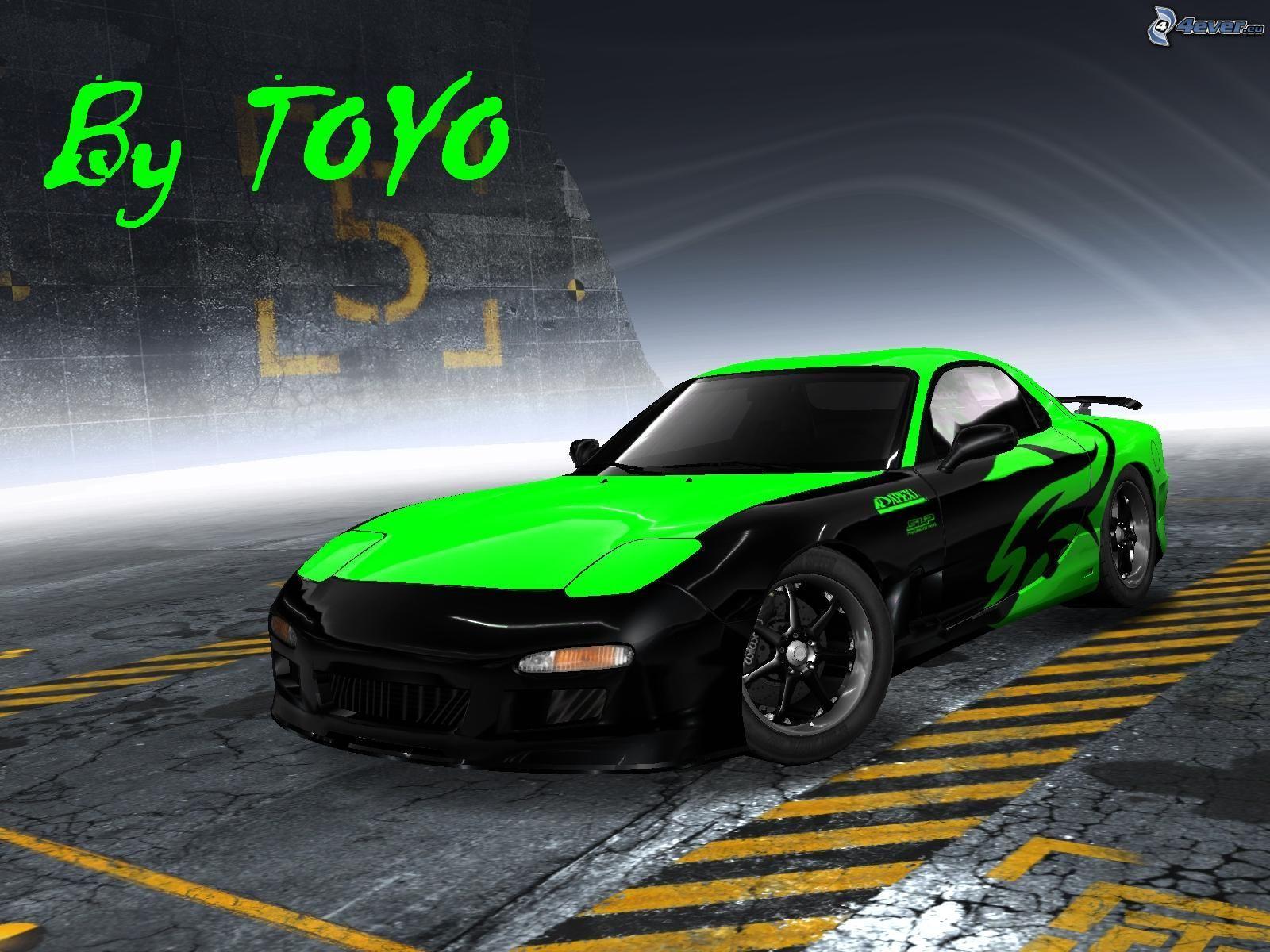 ... Mazda RX7 Fire Crystal Car 2013 | El Tony ...