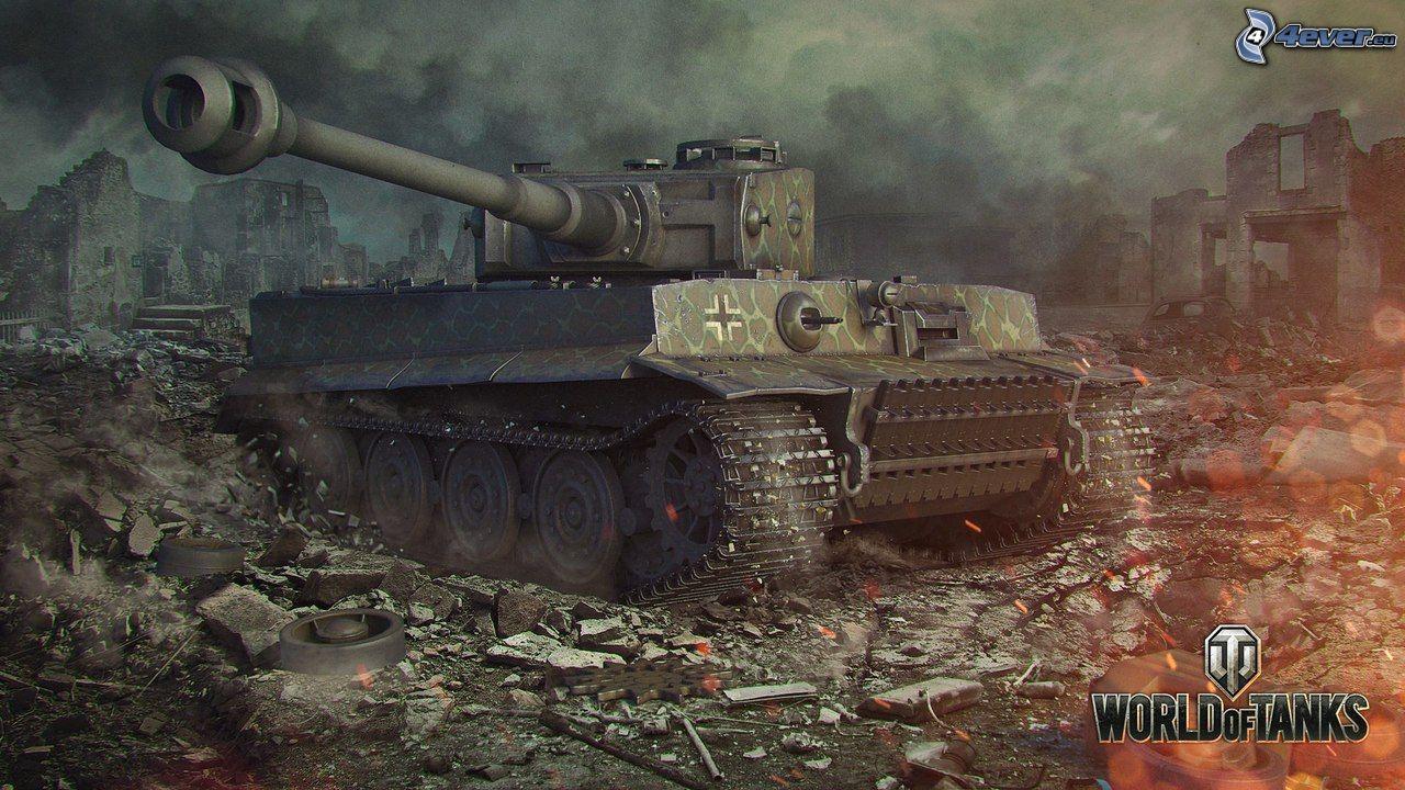 W.tiger World Of Tanks Tiger