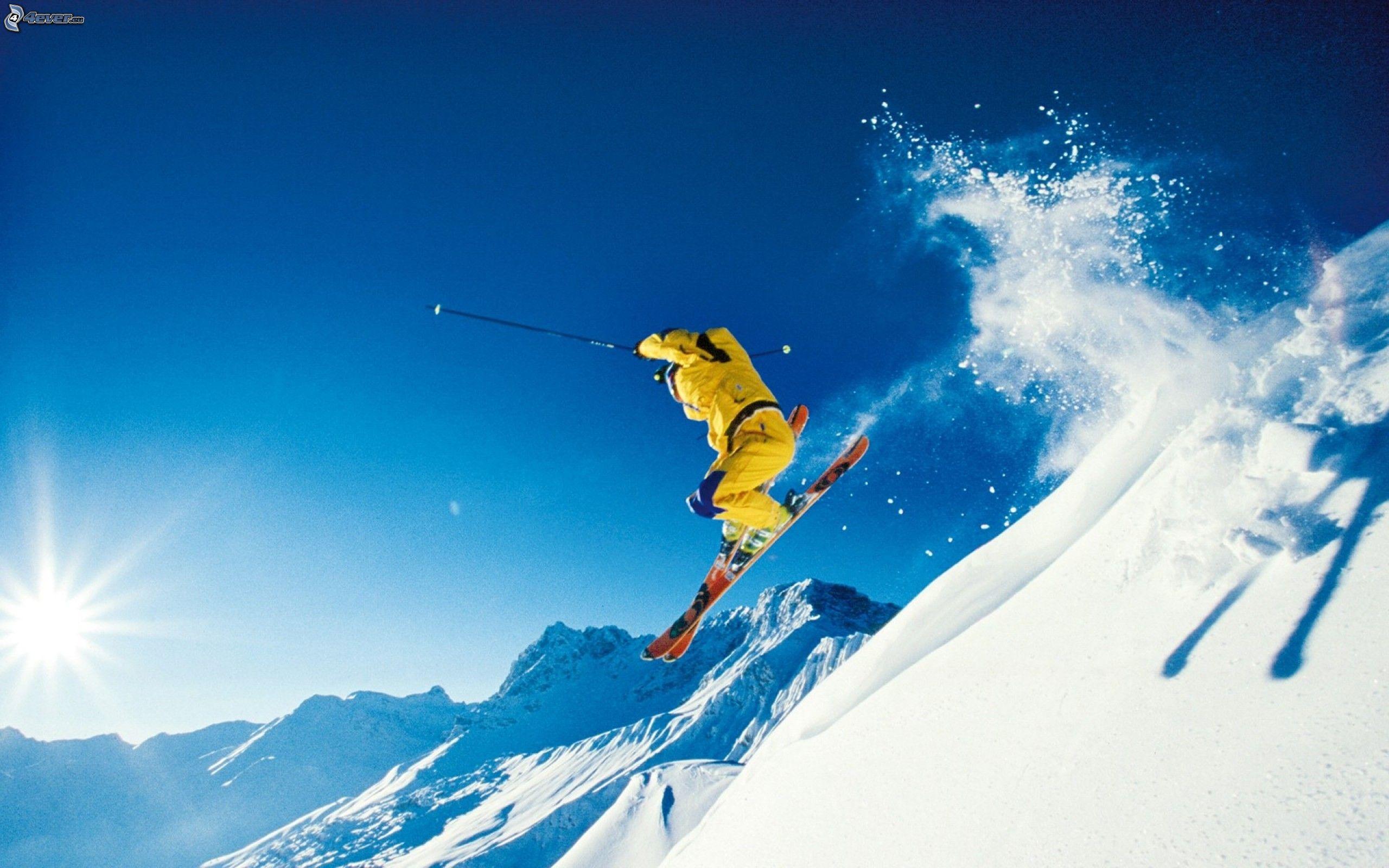 Extreme skiing - Ski wallpaper ...